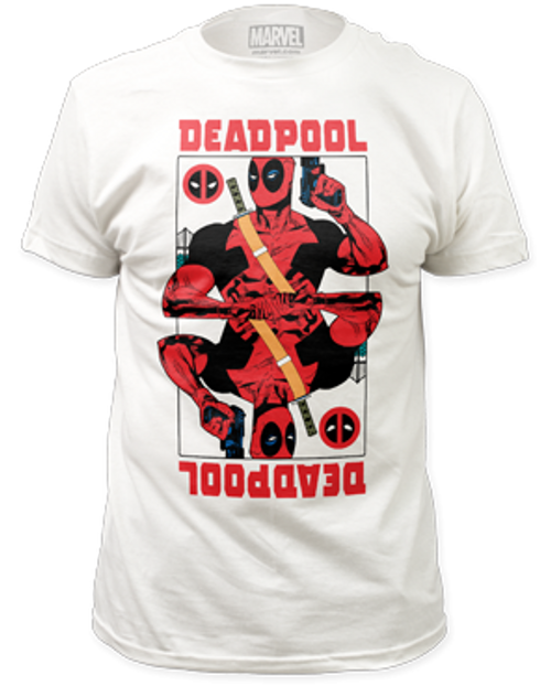 Deadpool Wild card 100% Cotton High Quality Pre Shrunk Machine Washable T Shirt