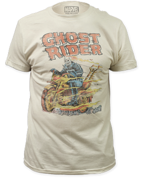 Ghost rider-hell on wheels 100% Cotton High Quality Pre Shrunk Machine Washable T Shirt