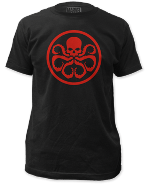 Hydra Logo adult unisex t-shirt 100% Cotton High Quality Pre Shrunk Machine Washable T Shirt