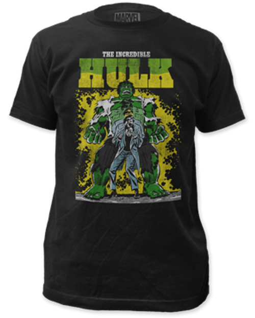 The incredible hulk transforming 100% Cotton High Quality Pre Shrunk Machine Washable T Shirt