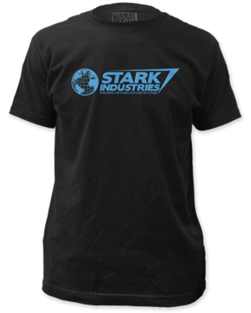 Iron man-stark industries 100% Cotton High Quality Pre Shrunk Machine Washable T Shirt