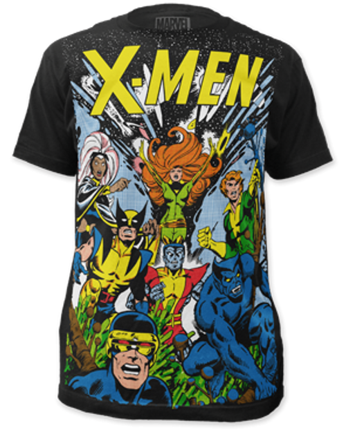 X-men-The Gang 100% Cotton High Quality Pre Shrunk Machine Washable T Shirt
