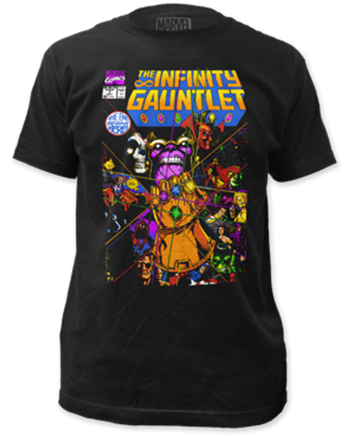The infinity gauntlet 100% Cotton High Quality Pre Shrunk Machine Washable T Shirt