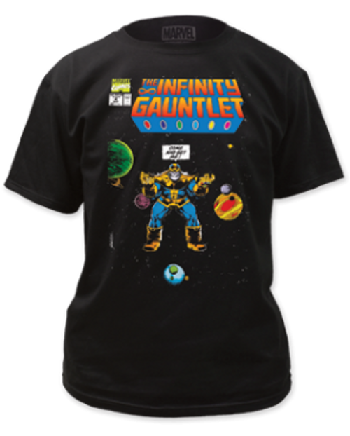 Thanos Infinity Gauntlet come and get me 100% Cotton High Quality Pre Shrunk Machine Washable T Shirt