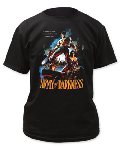 Army of darkness-Trapped in Time adult unisex t-shirt