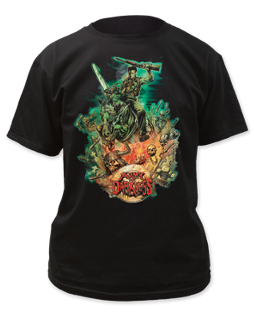 Army of darkness-Designed by Graham Humphreys adult unisex t-shirt