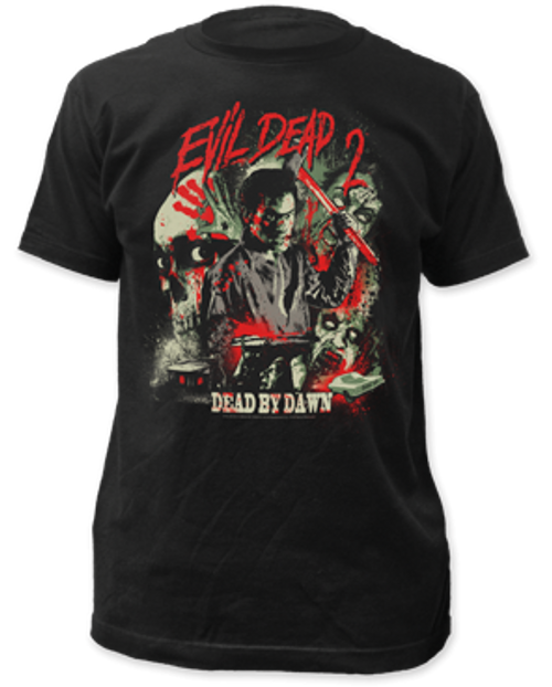 Evil Dead II-Dead by Dawn adult unisex t-shirt