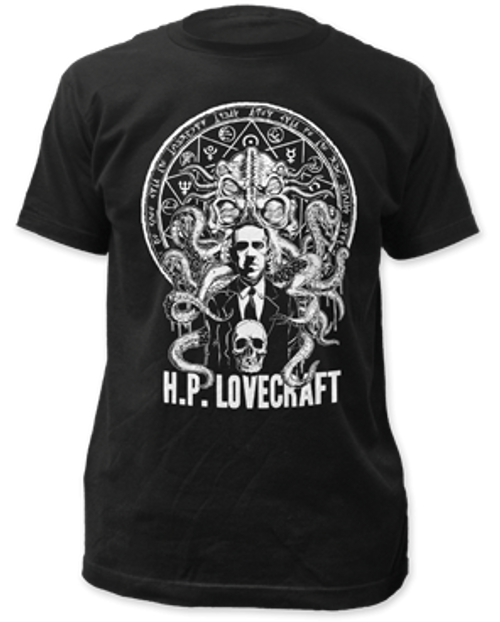 H.P Lovecraft adult unisex t-shirt
