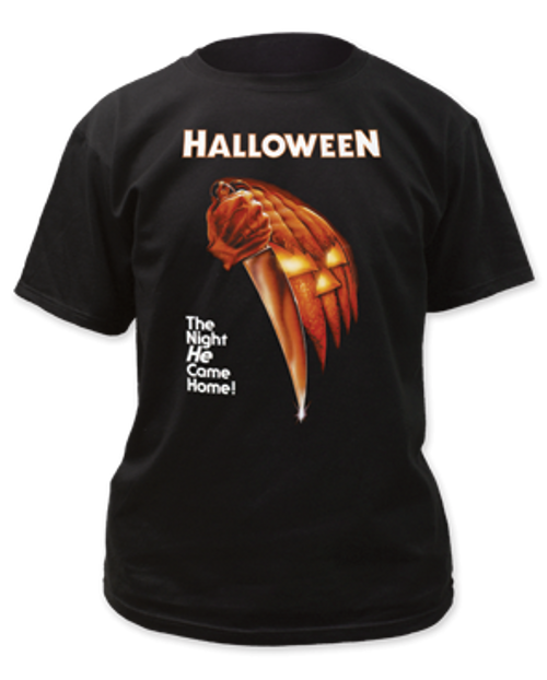 Halloween-Night he came home adult unisex t-shirt