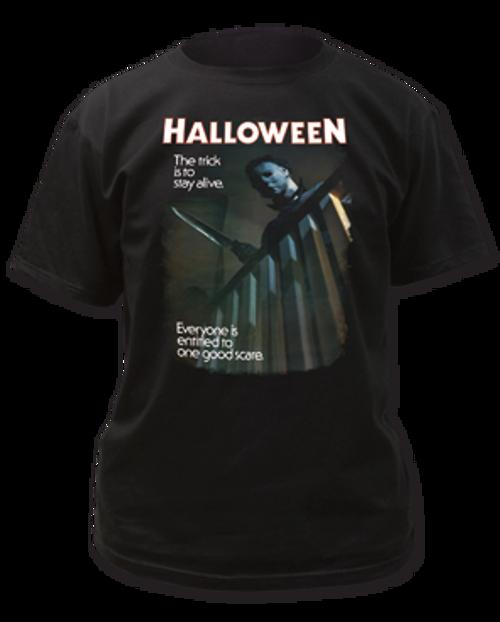Halloween-One Good Scare adult unisex t-shirt
