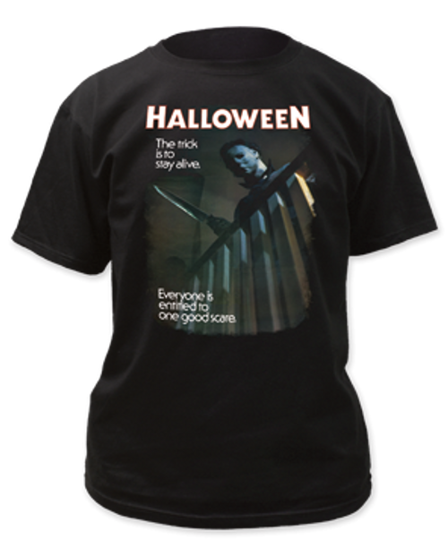 Halloween-One Good Scare adult unisex t-shirt