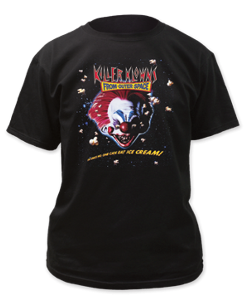 Killer Klowns-Ice Cream adult unisex t-shirt