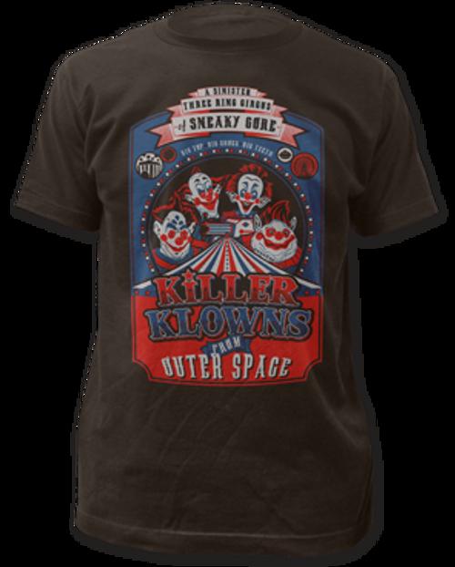 Killer Klowns-Big Top Poster adult unisex t-shirt