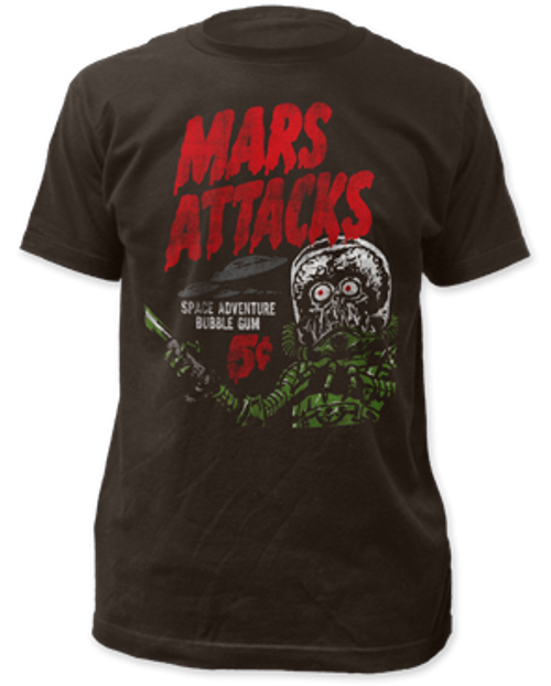 Mars Attack-Space Adventure adult unisex t-shirt