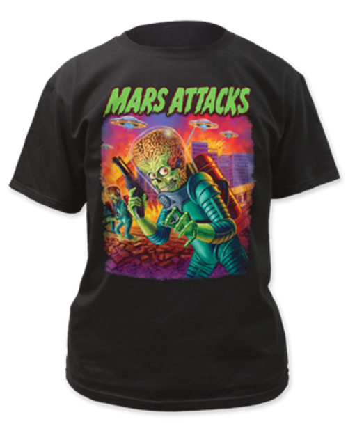 Mars Attack-UFO's Attack adult unisex t-shirt