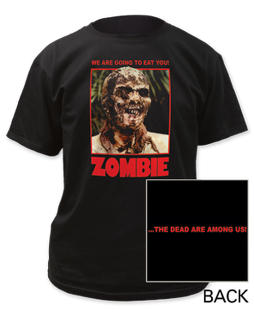 Zombie-we are going to you adult unisex t-shirt