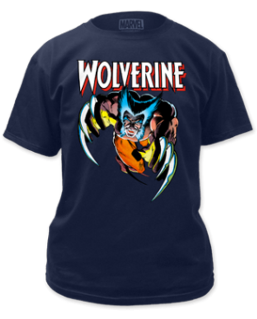 Wolverine  attack adult unisex t-shirt