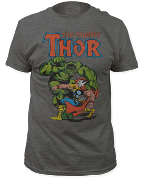 Thor vs Hulk  adult unisex t-shirt