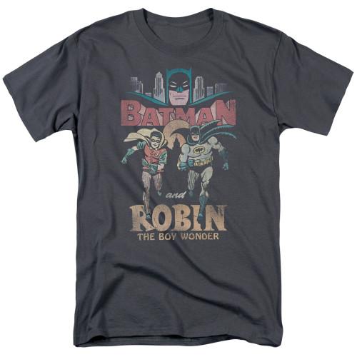 Batman-Classic Duo 100% cotton high quality pre shrunk machine washable t-shirt