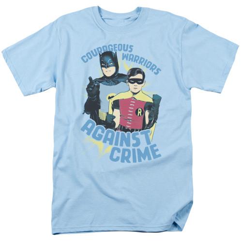 Batman-Courageous Warriors 100% cotton high quality pre shrunk machine washable t-shirt