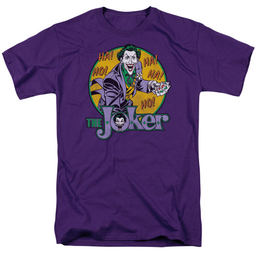 Batman-The Joker 100% cotton high quality pre shrunk machine washable t-shirt