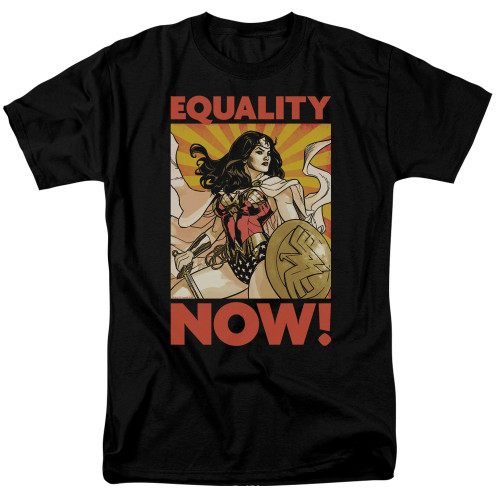 Wonder Woman-Now 100% Cotton High Quality Pre Shrunk Machine Washable T Shirt