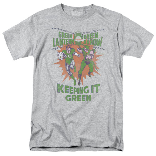 Green Lantern-Keeping it green 100% Cotton High Quality Pre Shrunk Machine Washable T Shirt