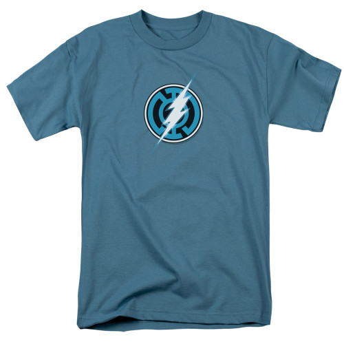 Blue Lantern Flash 100% Cotton High Quality Pre Shrunk Machine Washable T Shirt