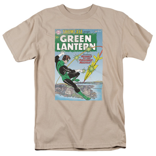 Green Lantern-Menace Missle 100% Cotton High Quality Pre Shrunk Machine Washable T Shirt