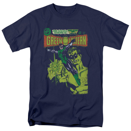 Green Lantern-Vintage Cover 100% Cotton High Quality Pre Shrunk Machine Washable T Shirt