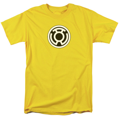 Green Lantern-Sinestro Corps Logo 100% Cotton High Quality Pre Shrunk Machine Washable T Shirt