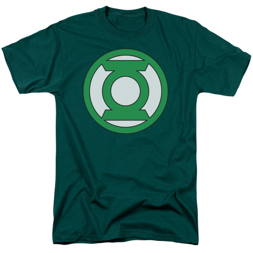 Green Lantern Logo 100% Cotton High Quality Pre Shrunk Machine Washable T Shirt