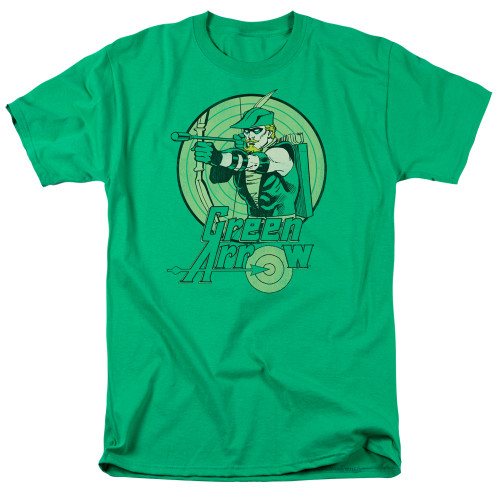 Green Arrow adult unisex t-shirt 100% cotton high quality pre shrunk machine washable t-shirt