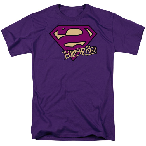 Superman-Bizarro Shield 100% Cotton High Quality Pre Shrunk Machine Washable T Shirt