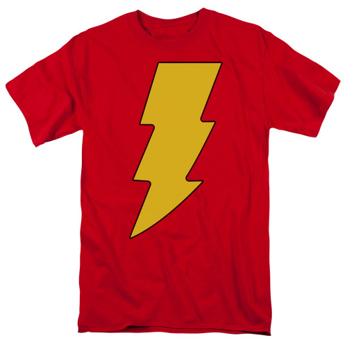 Shazam logo 100% Cotton High Quality Pre Shrunk Machine Washable T Shirt