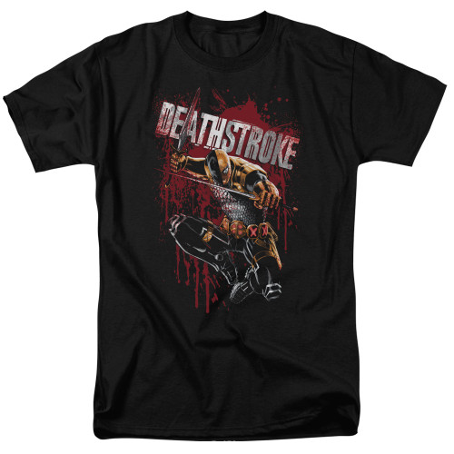 Deathstroke-Blood Splattered 100% cotton high quality pre shrunk machine washable t-shirt