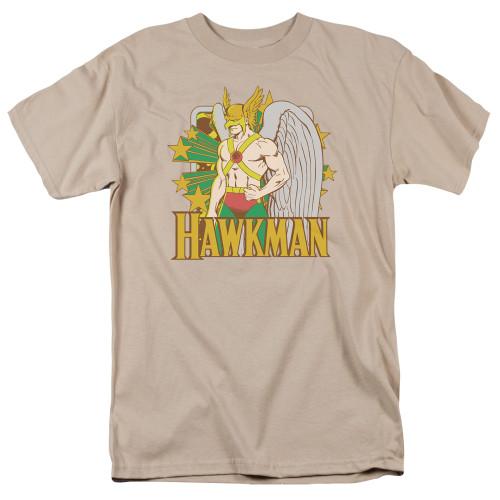 Hawkman stars 100% Cotton High Quality Pre Shrunk Machine Washable T Shirt