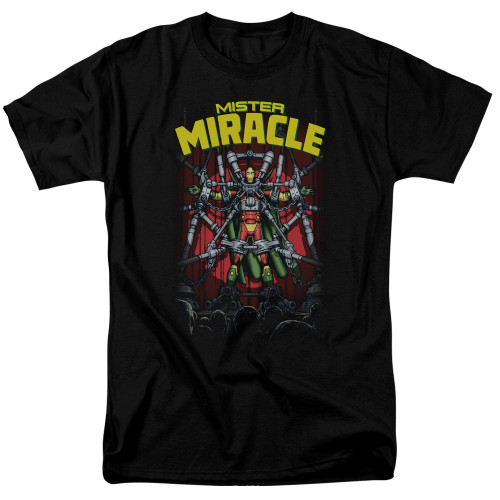 Mr Miracle 100% Cotton High Quality Pre Shrunk Machine Washable T Shirt