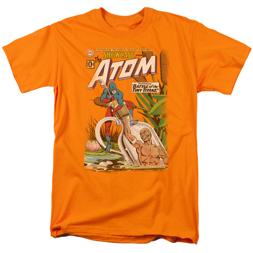 Atom 100% Cotton High Quality Pre Shrunk Machine Washable T Shirt