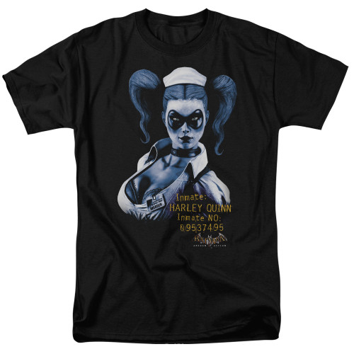 Arkham Harley Quinn 100% Cotton High Quality Pre Shrunk Machine Washable T Shirt