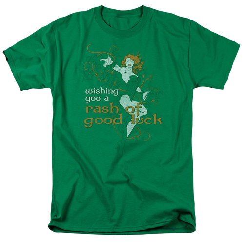Poison Ivy-Rash of good luck 100% Cotton High Quality Pre Shrunk Machine Washable T Shirt