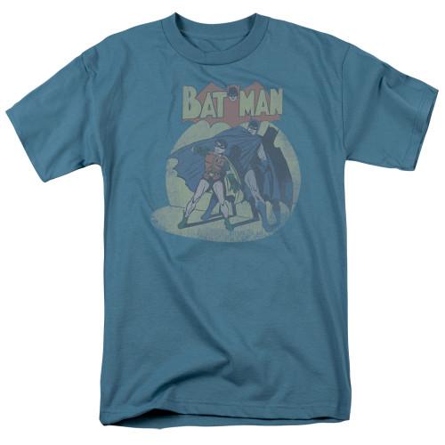 Batman-In the spotlight 100% cotton high quality pre shrunk machine washable t-shirt