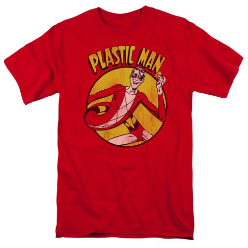 Plastic Man 100% Cotton High Quality Pre Shrunk Machine Washable T Shirt
