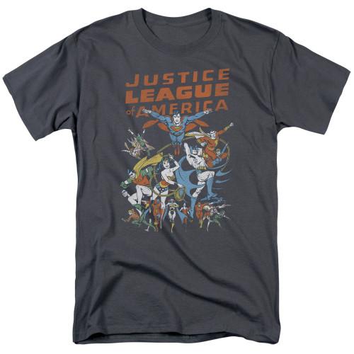 JLA-Big Group 100% Cotton High Quality Pre Shrunk Machine Washable T Shirt