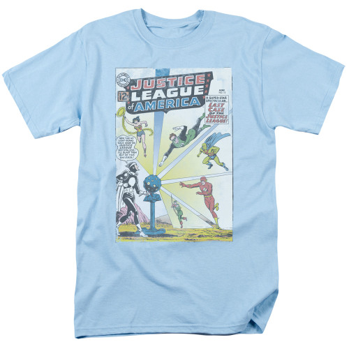 JLA Vintage cover #12 100% Cotton High Quality Pre Shrunk Machine Washable T Shirt