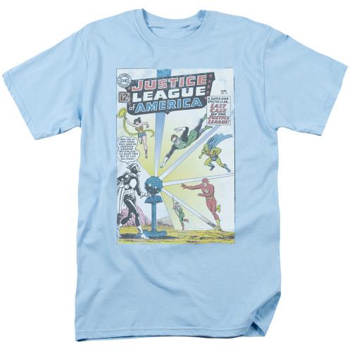 JLA Vintage cover #12 100% Cotton High Quality Pre Shrunk Machine Washable T Shirt