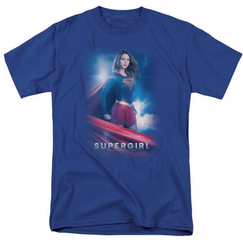 Supergirl Show-Zara Zor El 100% Cotton High Quality Pre Shrunk Machine Washable T Shirt