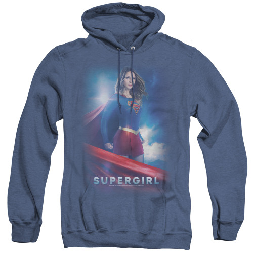 Supergirl Zara Zor el pull over hoodie 100% Cotton High Quality Pre Shrunk Machine Washable Hoodie