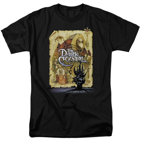 Dark Crystal Poster 100% Cotton High Quality Pre Shrunk Machine Washable T Shirt
