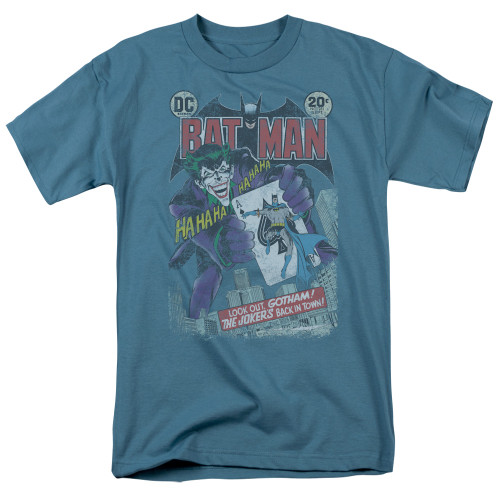 Batman-#251 distressed 100% cotton high quality pre shrunk machine washable t-shirt
